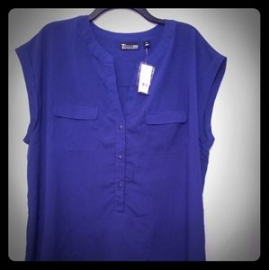 Tops - New York & Company Button Down Top
